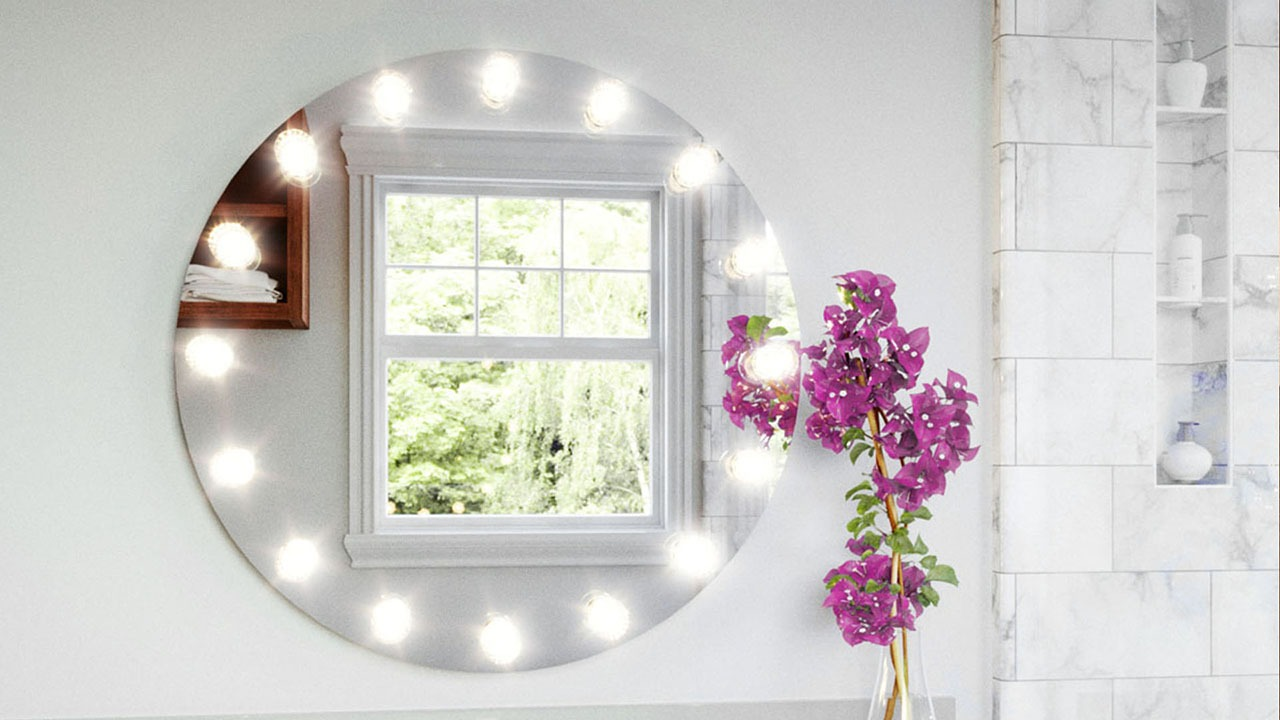 Perfect single bathroom mirror