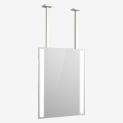 Stainless Steel Ceiling Mount (Square)