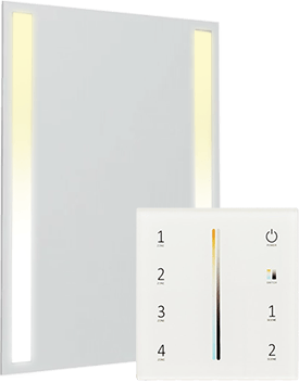 Mirror lights best features