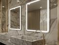 Custom bult mirror with LED light