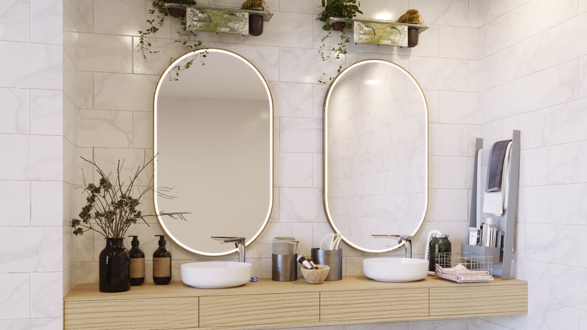 Keep it simple with mirror