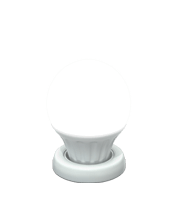 Cool frosted light bulb icon