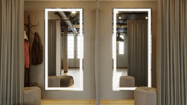 Mirrors for resorts