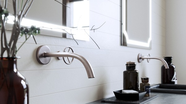 Turn your bathroom into a luxury bathroom with a lighted mirror by GM
