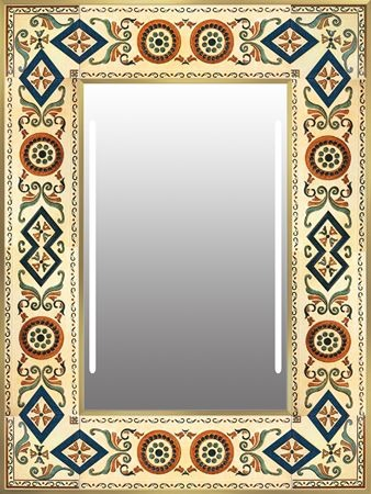 Custom-made frame mirror