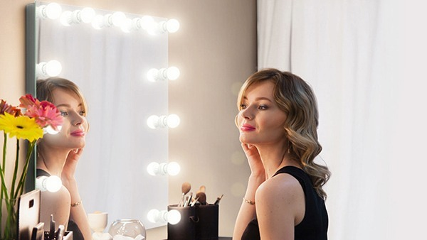 Let your inner beauty shine in mirror