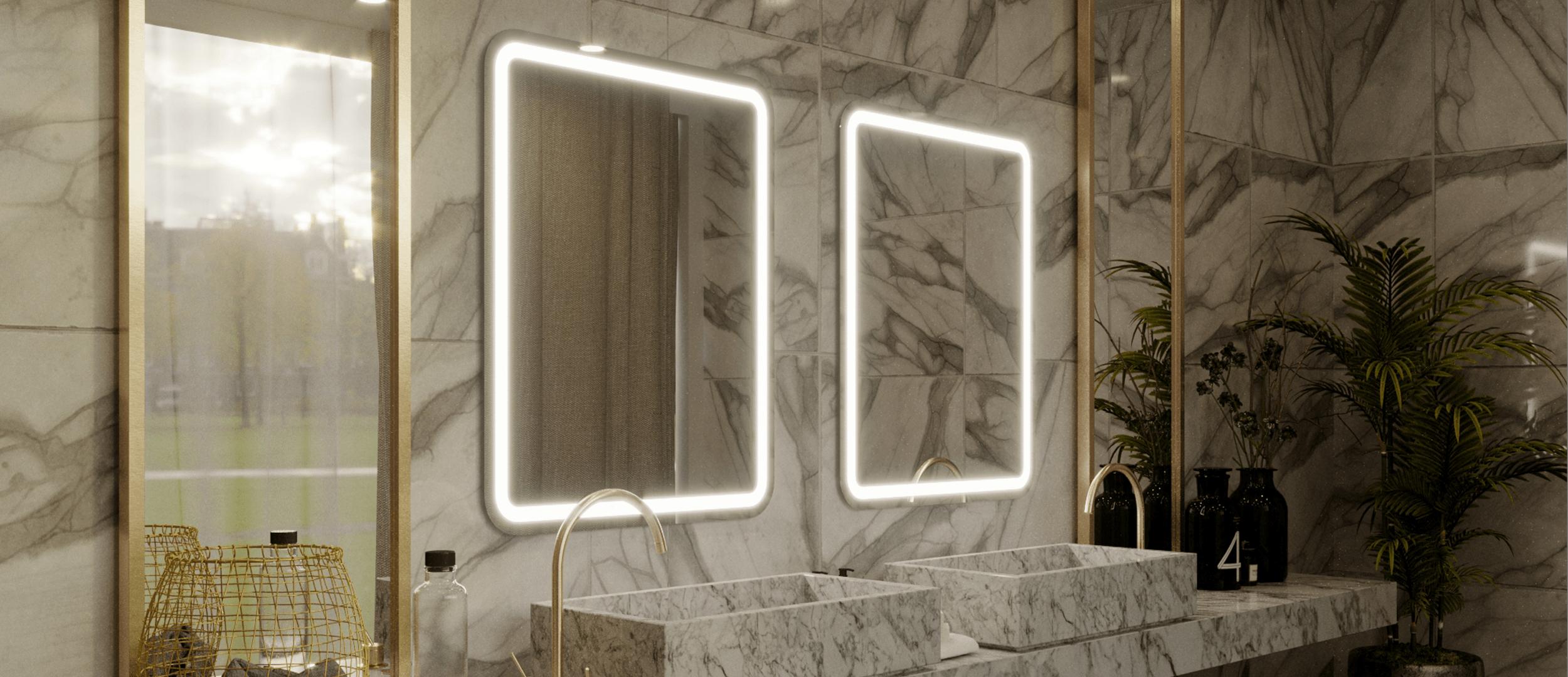 Mirror installed in Hilton hotel