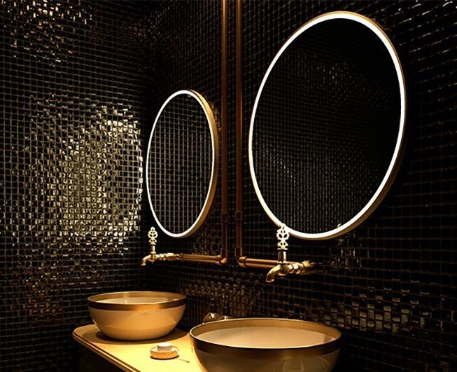 Privy mirror