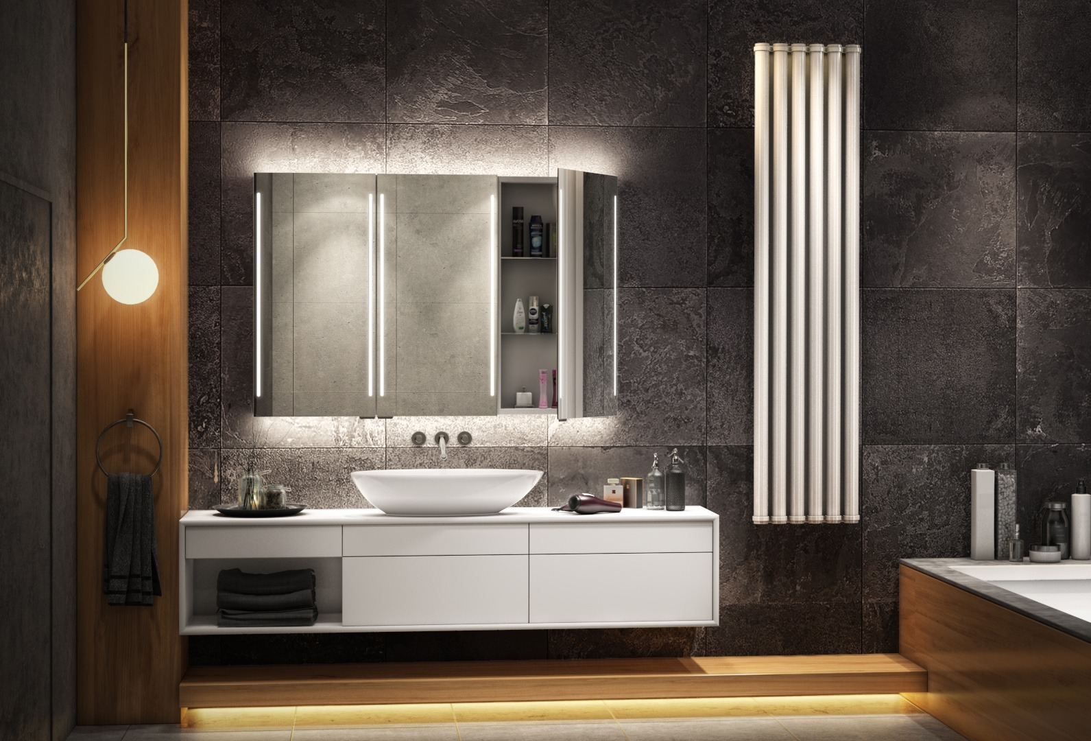 Space is essential for a cabi mirror