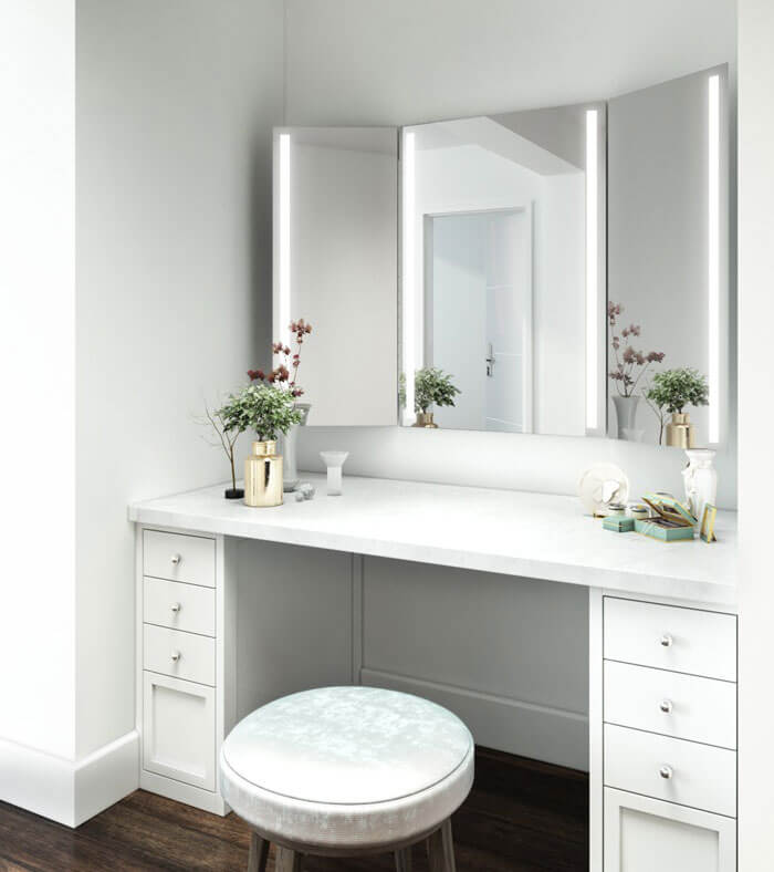 Lux Backlit Mirror For The Bathroom Made To Measure